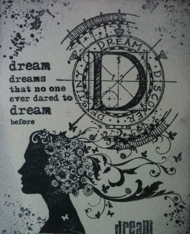 Dream a little...