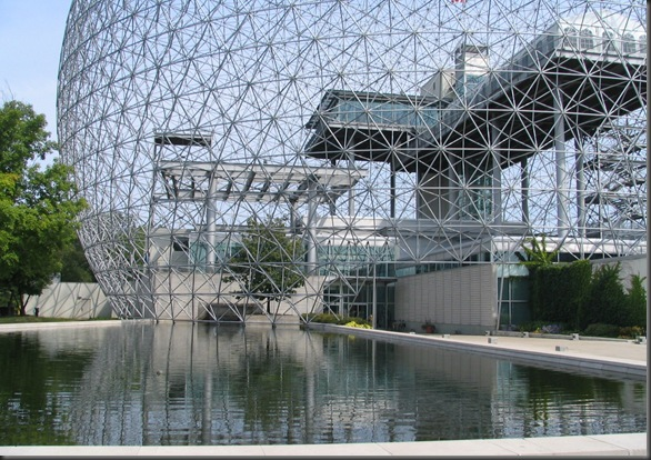 The Montreal Biosphere from the World Expo 1967
