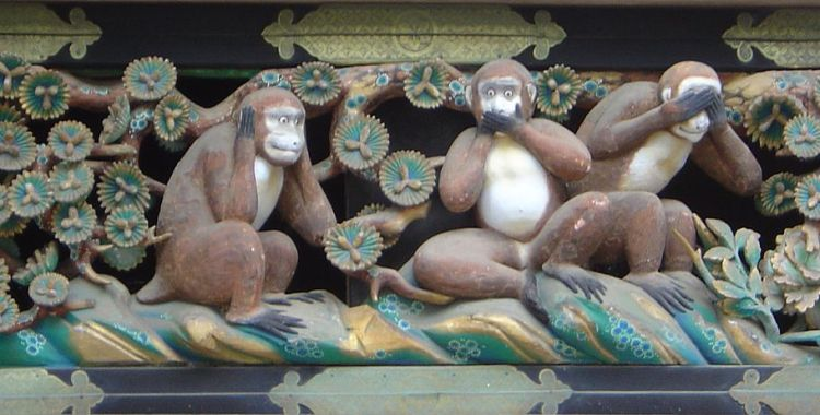 toshogu monkeys