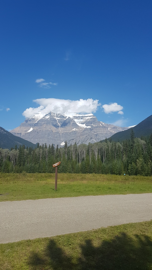 Mount Robson 1 August 2019